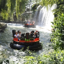 Fjord Rafting ride at Europa Park