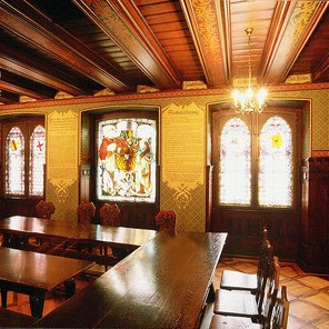 Historic room in the Merchants' Hall