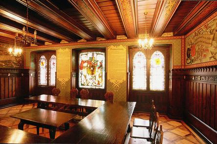 Historic room in the Merchants' Hall