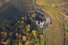 The ruins of Hohenstaufen castle