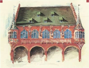 Merchants' Hall illustration