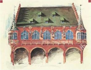 Merchants' Hall illustration