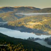 Titisee and Feldberg in the Hochschwarzwald