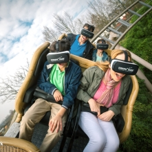 Pegasus virtual reality roller coaster at Europa ParK