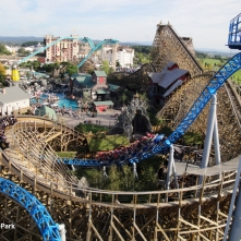 WODAN timber roller coaster at Europa Park